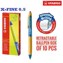 STABILO Performer+ Pen X-Fine (0.35mm) Box of 10''s)