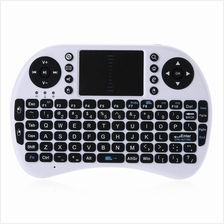 KP - 810 - 21 I8 2.4GHZ MINI WIRELESS QWERTY KEYBOARD WITH TOUCHPAD MO
