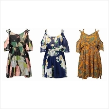 Women Hot Summer Floral Dress Loose Blouse Clothing