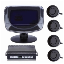 4 PARKING SENSOR AUTO REVERSING DETECTOR WITH DIGITAL DISPLAY AND STEP