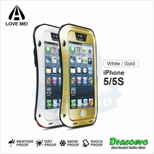 LOVE MEI Powerful Protective Case for iPhone 5/5S