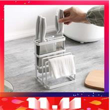 Great Nicely Divider For Knife And Chopping Board Rack Knife Holder