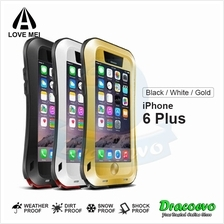 LOVE MEI Powerful Small Waist Protective Case for iPhone 6 Plus
