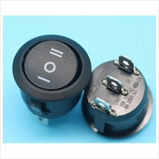 ON-OFF-ON ROUND ROCKER SWITCH