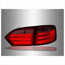 VOLKSWAGEN JETTA A6 2011 - 2017 Red Clear LED Light Bar Tail Lamp
