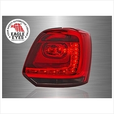 VOLKSWAGEN POLO MK5 2009 - 2017 EAGLE EYES Red Smoke LED Tail Lamp