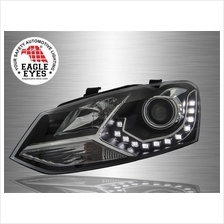 VOLKSWAGEN POLO MK5 2009 - 2017 EAGLE EYES LED DRL Projector Head Lamp