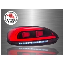 VOLKSWAGEN SCIROCCO 3rd Gen 2008-17 EAGLE EYES Red Clear LED Tail Lamp