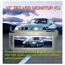 JAC AUDIO 12' Sunvisor TFT Monitor Market Largest Clear View Monitor