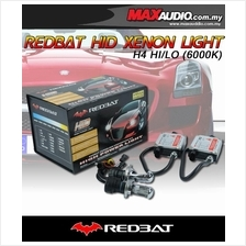 REDBAT JAPAN 4350K/ 6000K H4 HI-LOW BI-Xenon Magnectic HID Kit