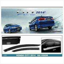HONDA CITY GM6 2014 - 2016 Injection Premium Quality Light Door Visor