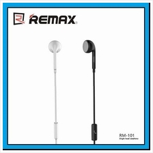 REMAX Single Side Earphone 3.5mm Wired Headset with Mic RM-101