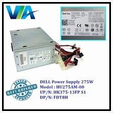 Dell Power Supply For Dell Optiplex 3010 7010 9010 MT PSU HU275AM-00 F