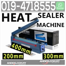 Sealing Heat Press Machine PE PP Plastic Bag Sealer 200mm 300mm 400mm