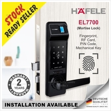 Gift St guchi & Samsung x1 Hafele EL7700 Fingerprint Digital Door Lock