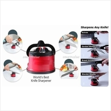 Hot Sale! : Knife , Blade & Scissors Sharpener With Suction Pad. Grab