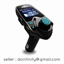 Unifee Bluetooth Car FM Transmitter USB Charger Audio Adapter Receiver