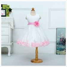 CC0014D New Flower Girl Large Flowers Princess Dress