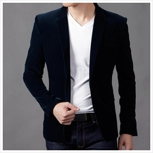 MS0106D Korean Style Casual Slim Fit Coat Jacket