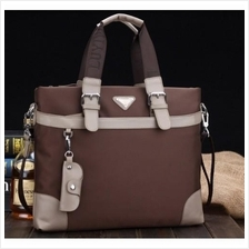 MB0014D Korean Men's Business Casual Canvas Messenger Bag