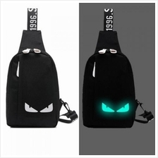 MB0011D Korean Casual Sports Noctilucent Messenger Bag