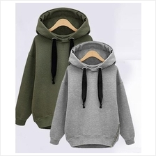 WS0127D New Thick Velvet Hooded Hedging Sweater