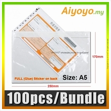 100pcs/Bundle Consignment Note Pocket A5 Pouch Document Whole Full Glu