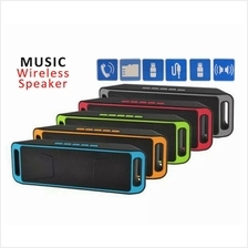 Wireless Bluetooth Rechargeable/Stereo Speaker USB/TF Card