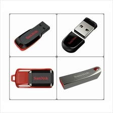 Sandisk Cruzer Blade/Switch/Fit/Force 8GB/16GB/32GB/64G/128GB Pendrive