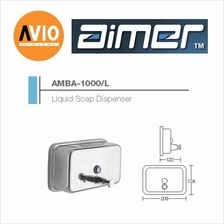 AIMER MALAYSIA AMBA-1000/L STAINLESS 304 LIQUID SOAP DISPENSER