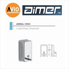 AIMER MALAYSIA AMBA-1000 STAINLESS 304 LIQUID SOAP DISPENSER