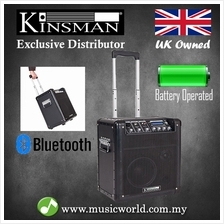 Kinsman KPA08 Portable PA System Connect to Phone and All Instrument