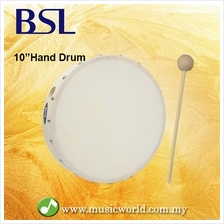 BSL 10 Inch Pretuned Hand Drum Frame Drum World Percussion With Mallet