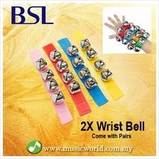 BSL Wrist Bell Hand bells In Pair 4 Bell Percussion Infant Development