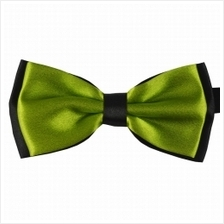 Gentlemen Polyester Yarn Bow Tie