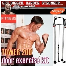 Rally on the door X-type elastic rope set strength training fitness eq
