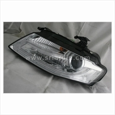 Audi A4 B8 08-12 Chrome Projector Headlamp w Bar