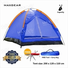 MAXGEAR Foldable Camping Outdoor Travel Tent 2 Person
