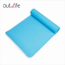 OUTLIFE ECO-FRIENDLY SKIDPROOF PREMIUM TPE YOGA MAT (BLUE)