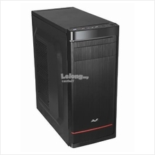 AVF Casing ATX SHIELDO (ACSD573-BRU3) USB3 BLACK RED WITH PSU