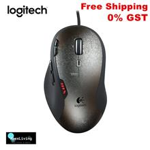 Logitech G500 Wired Laser Gaming Mouse with Adjustable Weight Tuning