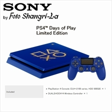 Sony PS4 Slim 500GB PlayStation 4 Days of Play Limited Edition Gaming Consoles