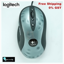 Logitech MX518 High Performance Optical Gaming Mouse (Metal)