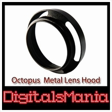 Octopus 72mm OC-LH01 Metal Lens Hood For Canon Nikon Sony Olympus Pent..