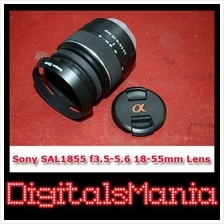 Sony SAL 18-55mm f3.5-5.6 DT SAM Lens + 2 Gifts