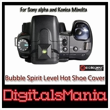 2 in 1 Octopus Bubble Spirit Level Hot Shoe Cover - Sony alpha Konica