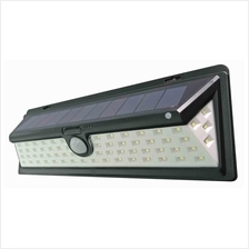 66 LED Outdoor Solar Motion Sensor Wall Light Wide Angle Super Bright