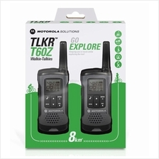 MOTOROLA WALKIE TALKIE ONE PAIR 8KM RANGE (TLKR T60Z)