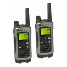 MOTOROLA Walkie Talkie 10KM RANGE (TLKR T80) TWIN -BUY ORIGINAL
