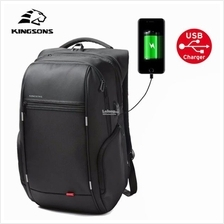 Original Kingsons Laptop Bag Professional USB Power Bank Backpack